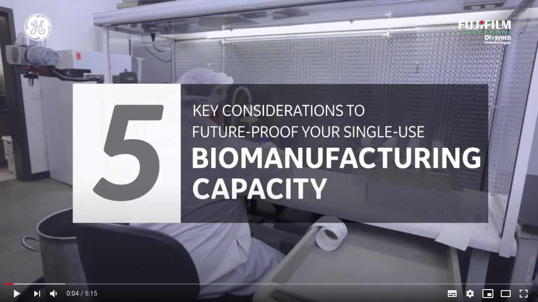 Video of Case Study: Single-Use Biologics Manufacturing for Long Term Needs