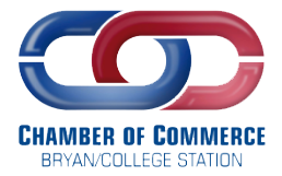 chamber of commerce bryan college station logo